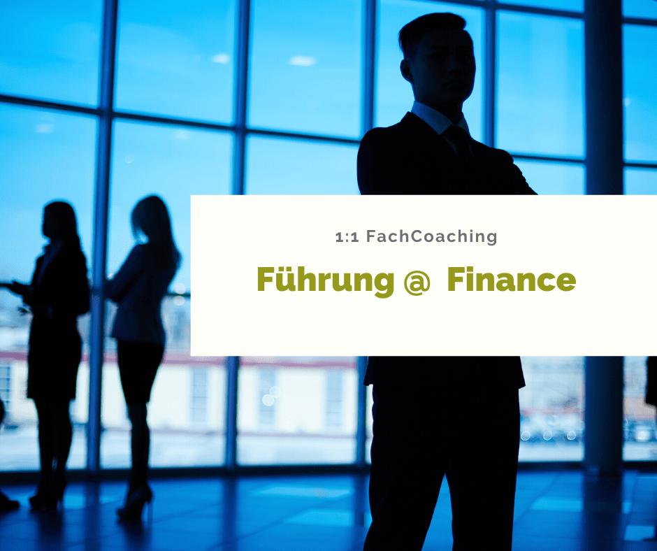 FachCoaching FÜHRUNG @ FINANCE
